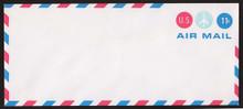 UC43 UPSS # AM-104-48A 11c Red & Blue Mint Entire