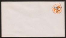UC12 UPSS # AM-53-41 5c on 6c Orange, die 2c, Mint Entire