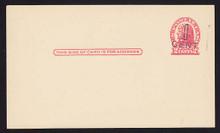UX32 UPSS# S44-13, Denver Surcharge, Mint Postal Card