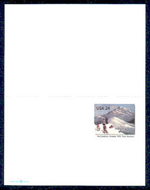 UY45 UPSS# MR55 24c Pike Expedition Mint UNFOLDED