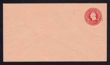 U456a, UPSS #2837 2c on 2c Carmine on Oriental Buff, die 5, Mint Entire