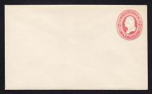 U243 UPSS# 745 2c Red on White, Mint Entire