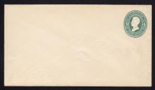 U256 UPSS# 773-6 4c Green on White, die 2, Mint Entire, Scarce Watermak