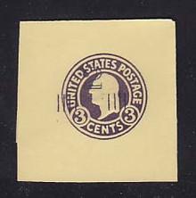 U469a 2c on 3c Dark Violet on Amber, die 5, Mint Full Corner, 50 x 50