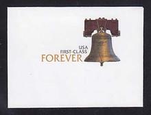 U667 44c Liberty Bell, Mint Full Corner