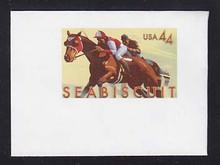 U668 44c Seabiscuit, Mint Full Corner