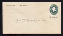 U311, UPSS # 931-8 Entire, Specimen Form 39, General Return