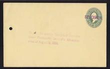U312, UPSS # 955-12 Entire, Specimen Form 42