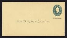 U312, UPSS # 956-8 Entire, Specimen Form 39