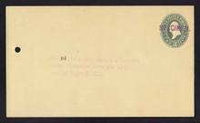 U312, UPSS # 958-12 Entire, Specimen Form 42