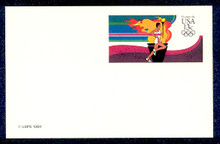 UX102 UPSS# S119 13c Olympic Runner Mint Postal Card
