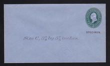 U314, UPSS # 985-8 Entire, Specimen Form 39