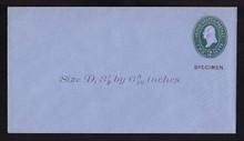 U314, UPSS # 987-8 Entire, Specimen Form 39