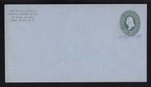 U314, UPSS # 987-12 Entire, Specimen Form 43