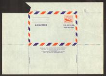 UC16a, UPSS #ALS-2 10c Skymaster Mint, UNFOLDED, Pre Cutting Paper Fold