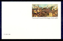 UX114 UPSS# S131 14c National Guard Mint Postal Card