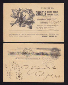 UX12 Philadelphia, Pennsylvania Buist's Prize Medal Garden Seeds/Rose