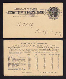 UX14 Buffalo, New York Pan-American Exposition Machine Cancel Bomar BO1-14b