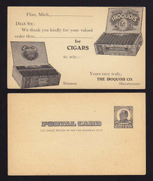UX19 Flint, Michigan The Iroquois Co., Cigars