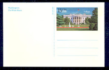 UX143 UPSS# S156 15c White House Picture Mint Postal Card