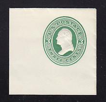 U82 3c Green on White, Mint Full Corner, 50 x 50