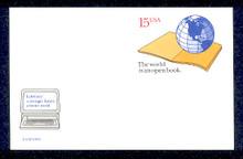 UX146 UPSS# S160 15c World Literacy Mint Postal Card