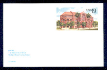 UX155 UPSS# S168 19c Texas University Mint Postal Card