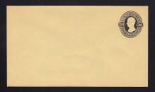 U210 UPSS # 626 30c Black on Amber Manila, Mint Entire, Horizontally Laid Paper