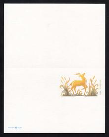 UY51 UPSS# MR61 (33c) Deer Mint UNFOLDED