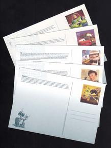 UX622-26 UPSS # S636-40 29c Disney Pixar-HELLO Mint Postal Cards