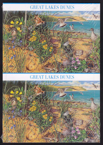 UX539-48 UPSS #553-62 42c Great Lakes Dune Mint Postal Cards