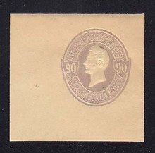 U346 90c Purple on Manila, Mint Full Corner, 50 x 47