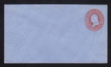 U229 UPSS # 656-5 2c Red on Blue, Mint Entire
