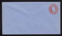 U229 UPSS # 659-5 2c Red on Blue, Mint Entire