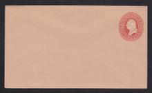 U230 UPSS # 662 2c Red on Fawn, Mint Entire