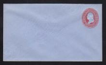 U233 UPSS # 676-6 2c Red on Blue, Mint Entire