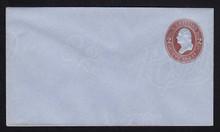 U262 UPSS # 693 2c Brown on Blue, Mint Entire