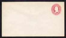 U236 UPSS # 707 2c Red on White, Mint Entire