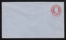 U238 UPSS # 714 2c Red on Blue, Mint Entire