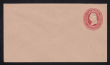 U239 UPSS # 716 2c Red on Fawn, Mint Entire