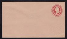 U239 UPSS # 718 2c Red on Fawn, Mint Entire