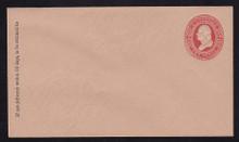 U239 UPSS # 718 2c Red on Fawn, Mint Entire, GR