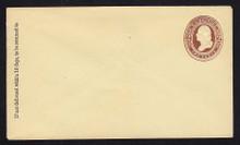U266 UPSS # 728 2c Brown on Amber, Mint Entire, GR