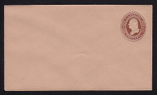 U268 UPSS # 736 2c Brown on Fawn, Mint Entire