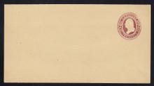 W269 UPSS# 739-6 2c Brown on Manila, Mint Wrapper, folded