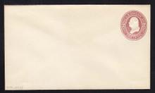 U277 UPSS # 794-7 2c Brown on White, die 1, Mint Entire
