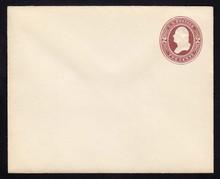 U277 UPSS # 798-7 2c Brown on White, die 1, Mint Entire
