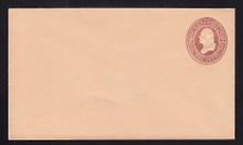 U279 UPSS # 811-7 2c Brown on Oriental Buff, die 1, Mint Entire