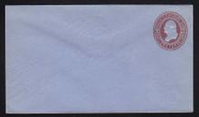 U280 UPSS # 819-6 2c Brown on Blue, die 1, Mint Entire