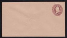 U281 UPSS # 827 2c Brown on Fawn, die 1, Mint Entire